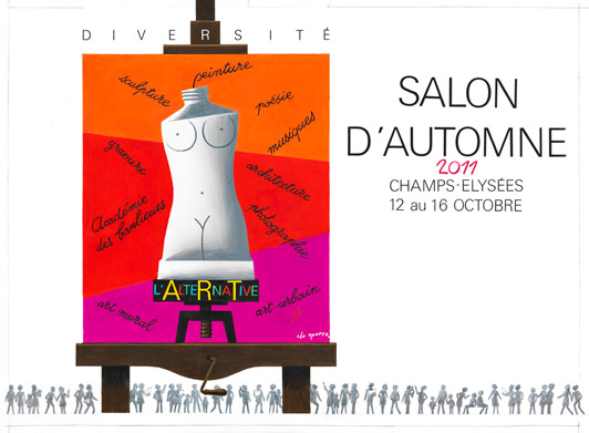 Salon d automne 2011 paris champs elys es for Salon automne