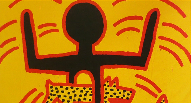 KEITH HARING &#8211; THE POLITICAL LINE @ MUSE D&rsquo;ART MODERNE DE LA VILLE DE PARIS