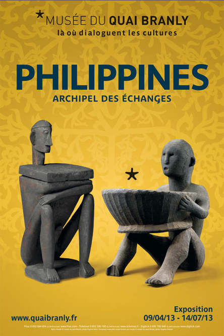 PHILIPPINES, ARCHIPEL DES ECHANGES @ MUSEE DU QUAI BRANLY
