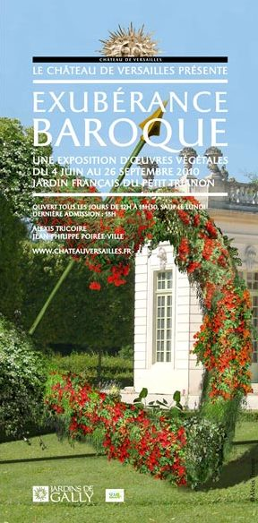 exuberance baroque jardin trianon le site de l 39 ev nementiel. Black Bedroom Furniture Sets. Home Design Ideas