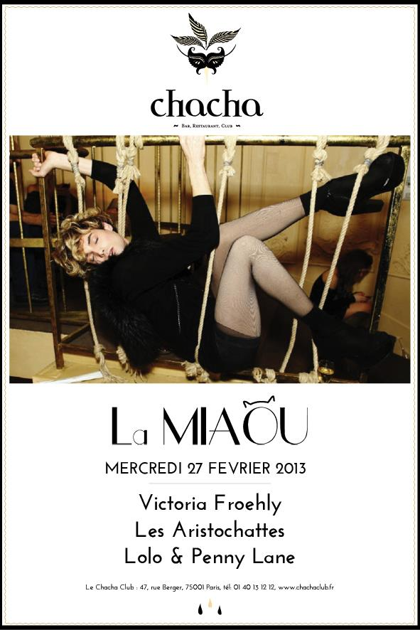 la miaou w victoria froehly les aristochattes chacha club le 27 f vrier 2013 le site. Black Bedroom Furniture Sets. Home Design Ideas