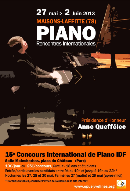 Rencontre international de piano paris