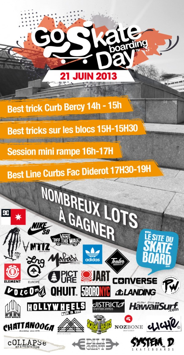 Le go skateboarding Day