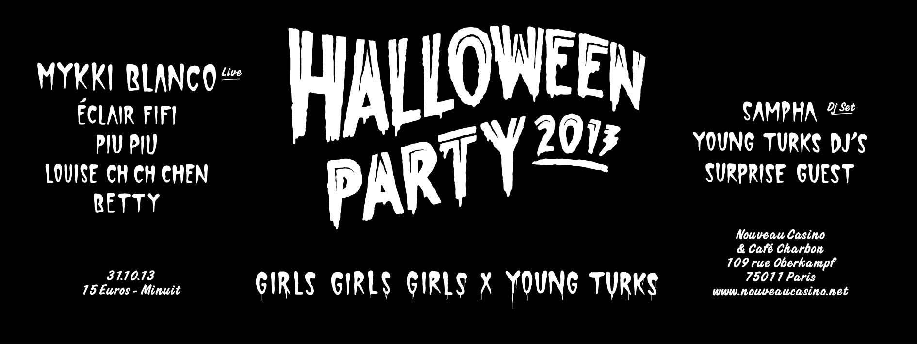 Halloween party 2013- nouveau casino