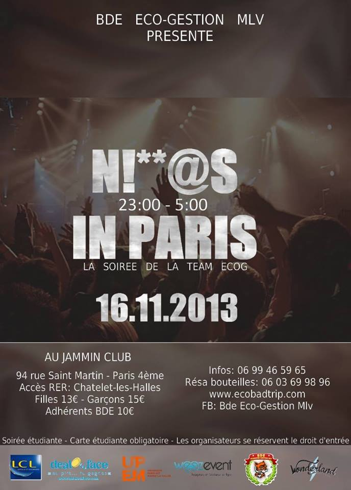 Niggas in Paris - Jammin Club