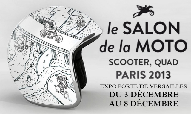 Salon de la moto du scooter et du quad porte de for Salon e marketing porte de versaille
