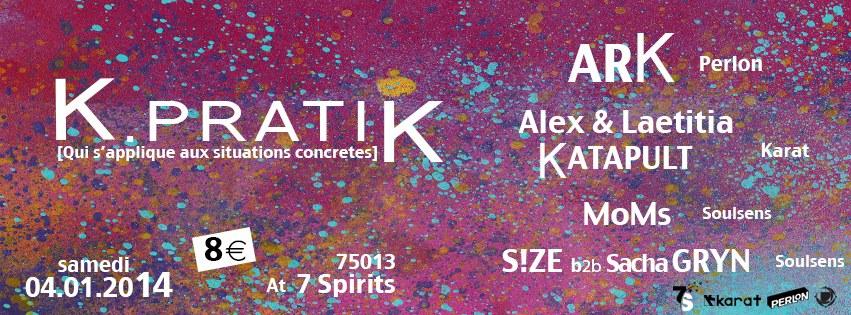 K Pratik - Seven Spirits