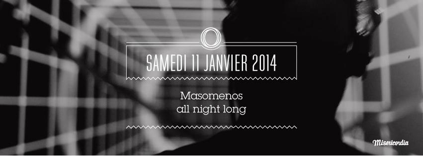 Masomenos all night long au Badaboum