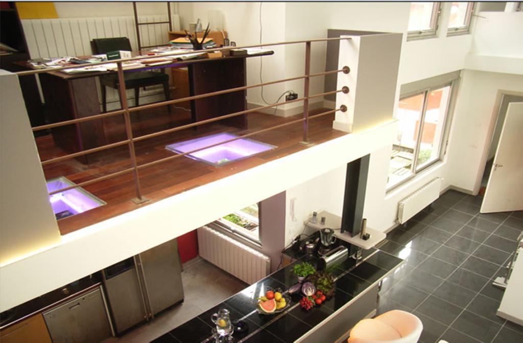 Studio Montreuil - Mezzanine bureau