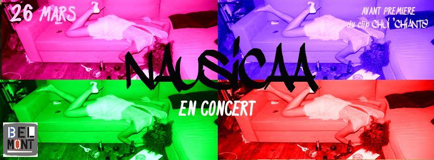 Concert Live Nausicaa @ Belmont 26 Mars 2014
