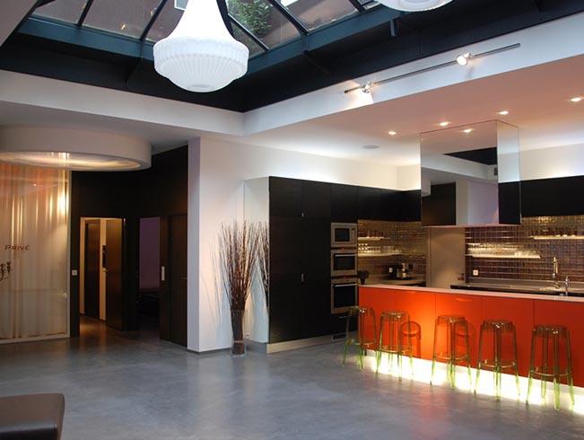 location privatisation loft du passage paris 11 me arrondissement. Black Bedroom Furniture Sets. Home Design Ideas