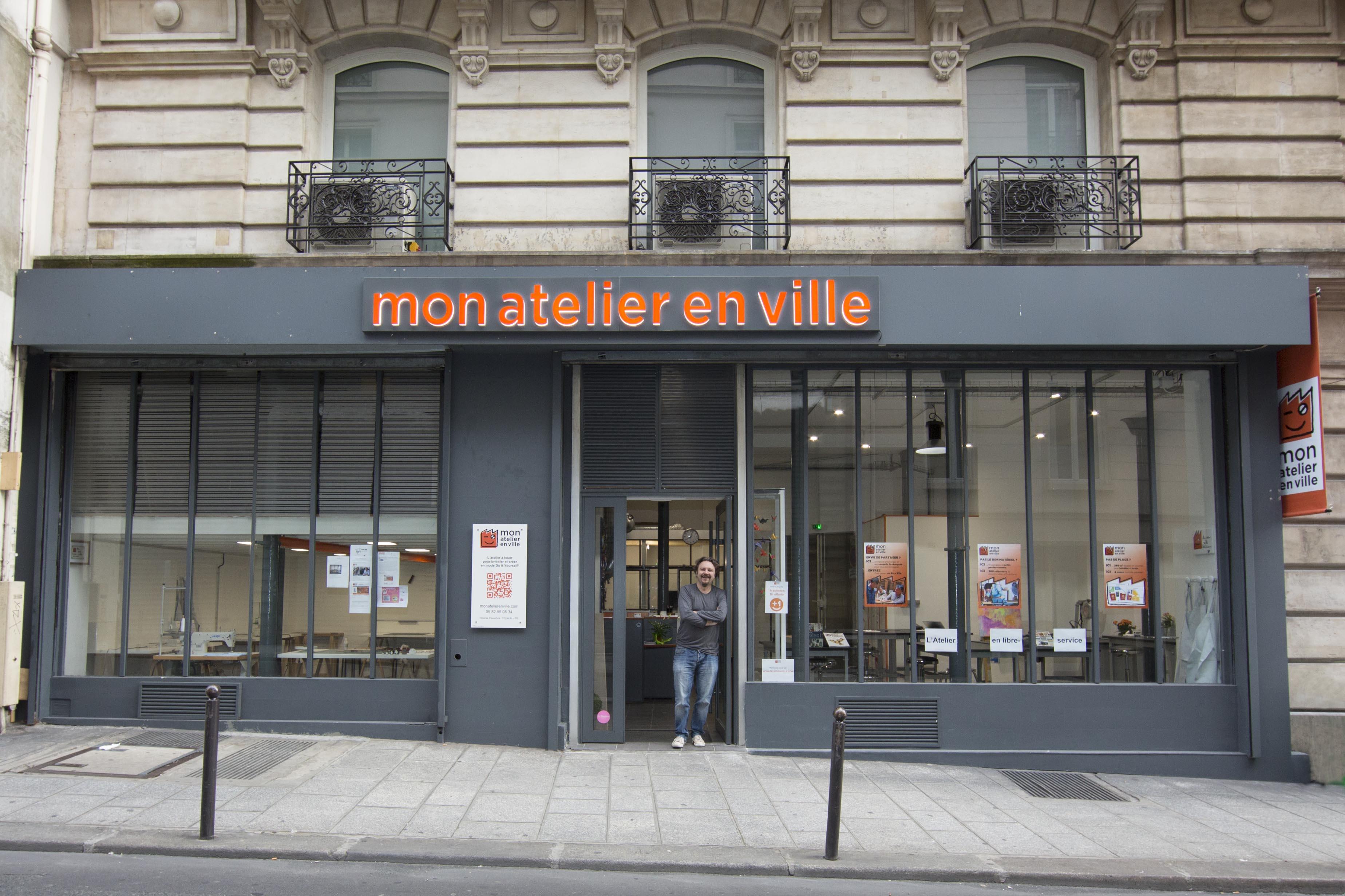 location privatisation mon atelier en ville paris 2 me arrondissement. Black Bedroom Furniture Sets. Home Design Ideas