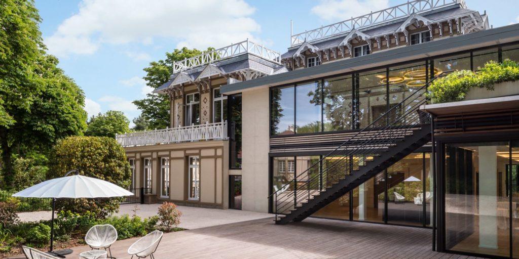 Pavillon Royal - Entrée