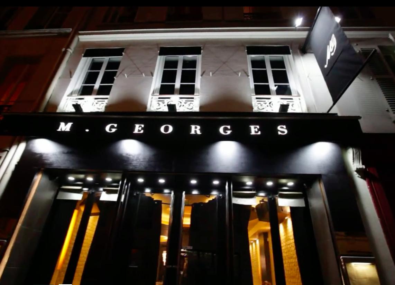 Location privatisation monsieur georges paris 8 eme for Verre restaurant professionnelle