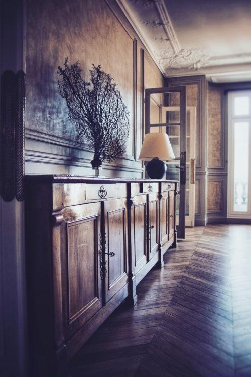 Privatisation location l 39 appartement haussmannien paris for Appartement decoration
