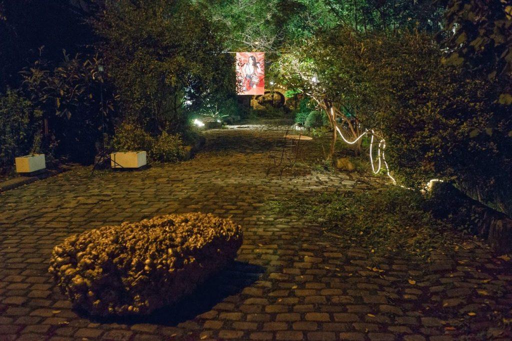 Dans les jardins de Pierre