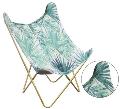 fauteuil papillon jungle