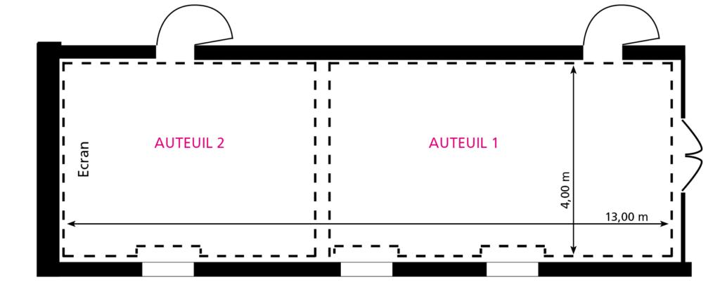 Plan Salon Auteuil