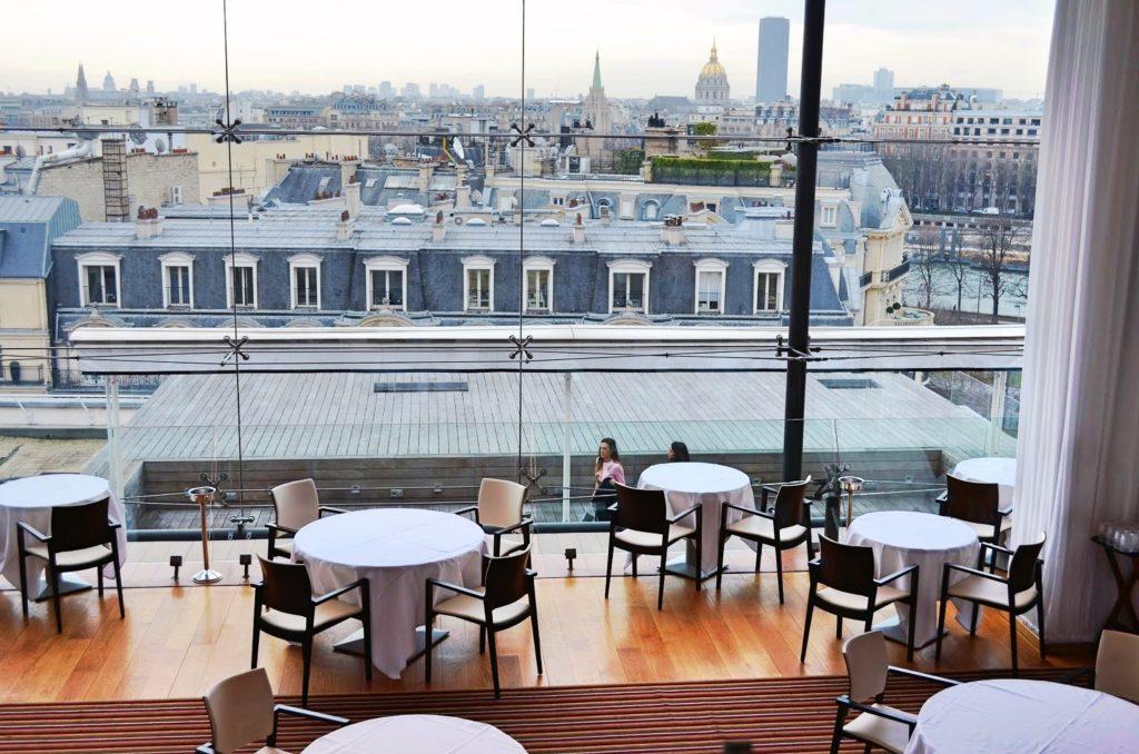 Restaurant Champs-Elysées - Salle Vitrée