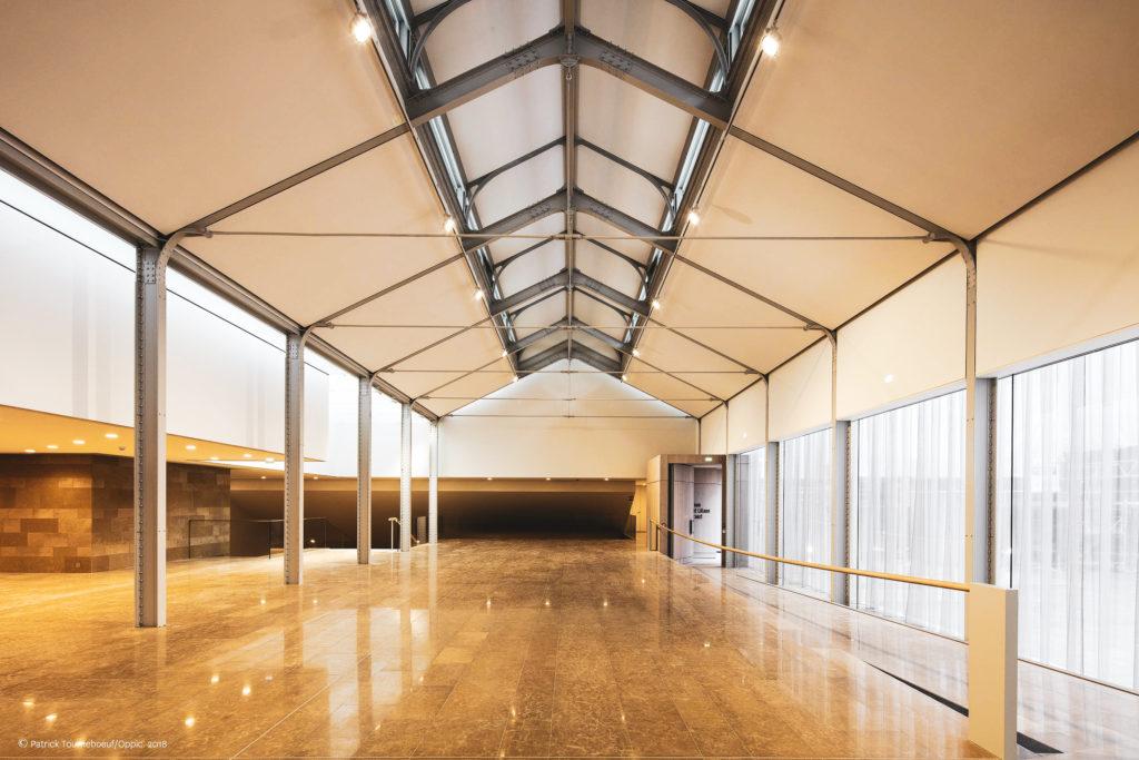 Grande salle - Pavillon Exception