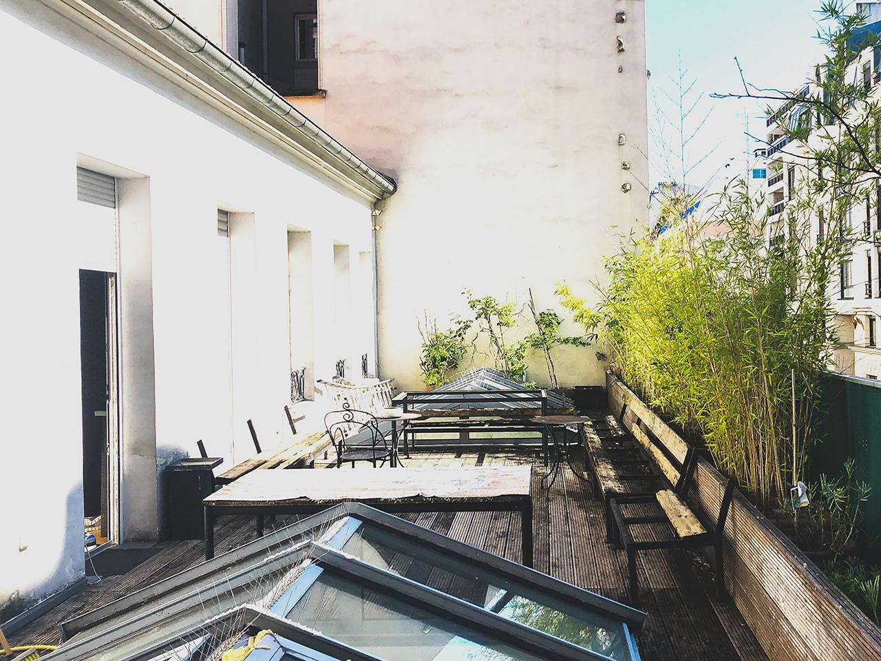 Terrasse - Loft Charonne