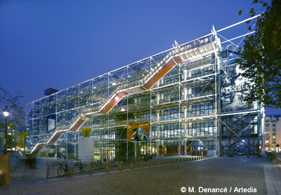 Location Centre Pompidou