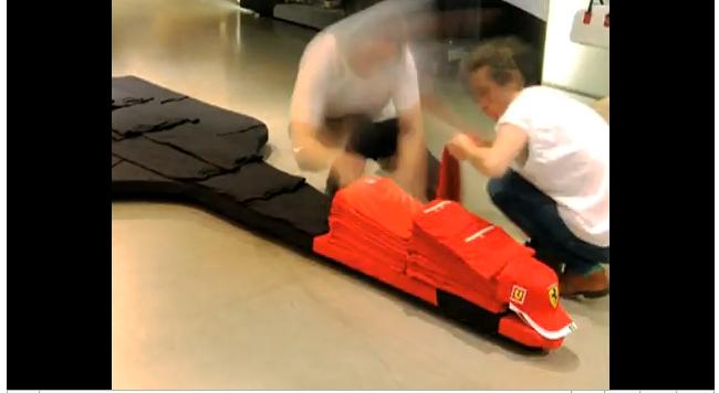 partenariat puma Ferrari