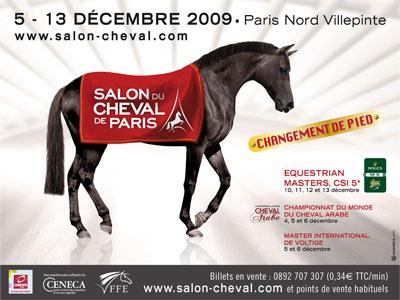 Salon du cheval du 5 au 13 d cembre 2009 villepinte for Salon du master